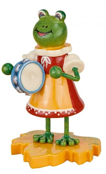 Hubrig Frosch - Mädchen mit Tamburin