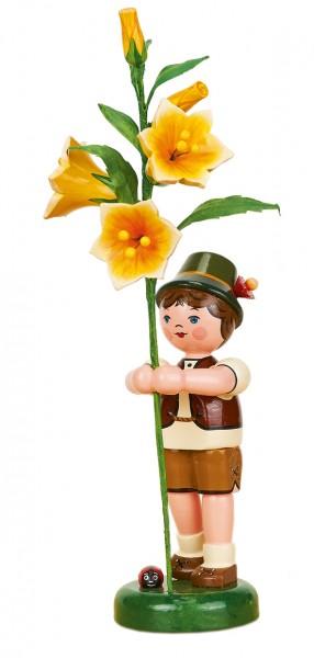 Hubrig Blumenkinder Junge mit Lilie