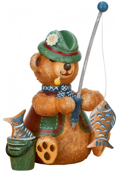Hubrig Hubiduu ® - Teddy mit Herz - Angler