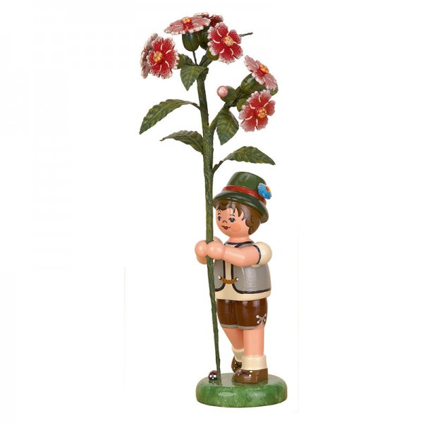 Hubrig Blumenkinder Junge mit Buschnelke