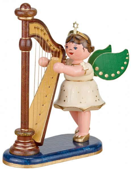 Hubrig Engel Harfe 10cm
