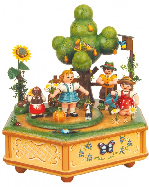 Hubrig Spieldose Unser kleiner Garten