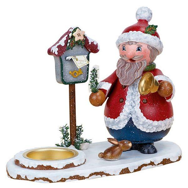 Hubrig Räucherwichtel Weihnachtsmann mit Teelicht