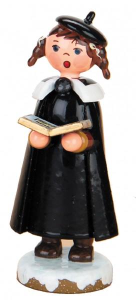 Hubrig Kurrendemädchen mit Buch und Zöpfen