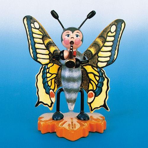 Hubrig Schmetterling Schwalbenschwanz mit Flöte