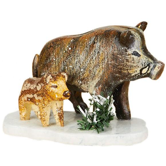 Hubrig Winterkinder Wildschweine