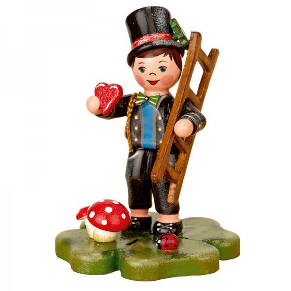 Hubrig Miniatur Schornsteinfeger Glückskind