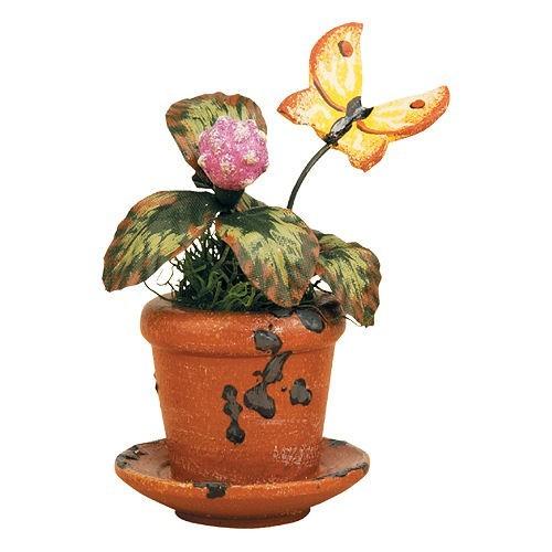 Hubrig Blumentopf Kleeblume