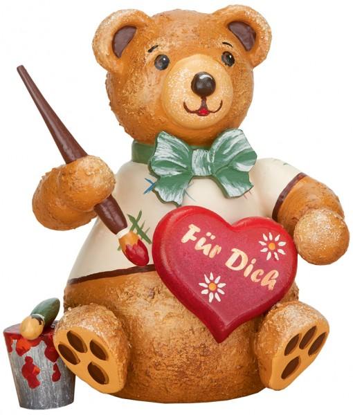 Hubrig Hubiduu ® - Teddy mit Herz - Herzelmaler