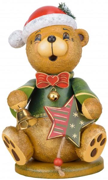 Hubrig Räuchermann Teddy Weihnachtsklaus 20cm