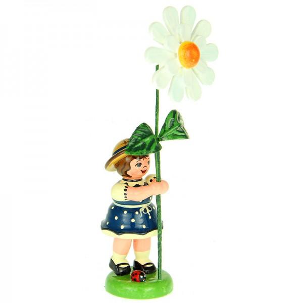 Hubrig Blumenkinder Mädchen mit Margerite