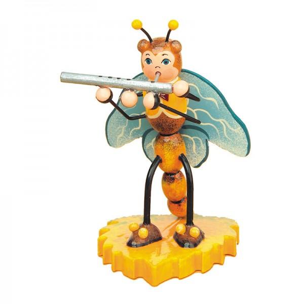 Hubrig Libelle mit Querflöte