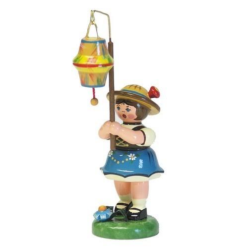 Hubrig Lampionkinder Mädchen mit kegelförmigem Lampion