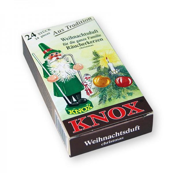 KNOX Räucherkerzchen - Weihnachtsduft