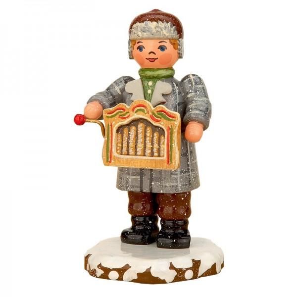 Hubrig Winterkinder Drehorgelspieler