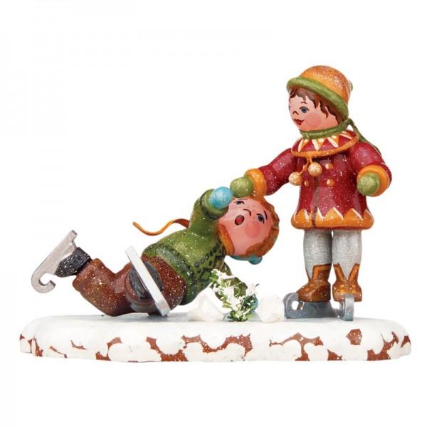 Hubrig Winterkinder Schlittschuhläufer