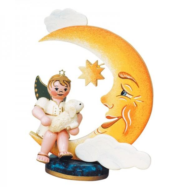 Hubrig Engelbub mit Mond und Schäfchen