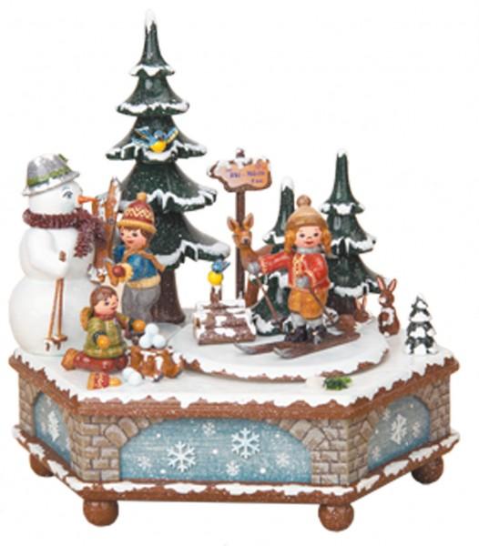Hubrig Spieldose Winterzeit