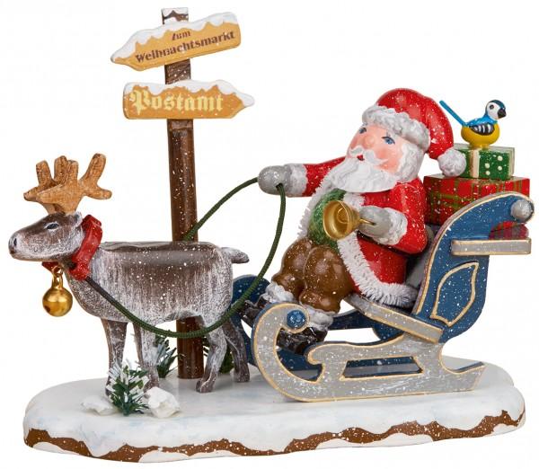 Hubrig Winterkinder - Hurra der Weihnachtsmann kommt