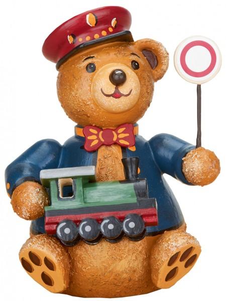 Hubrig Hubiduu ® - Teddy mit Herz - Eisenbahner