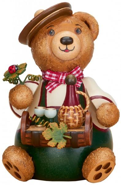Hubrig Hubiduu ® - Teddy mit Herz - Weinliebhaber