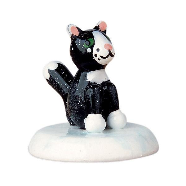 Hubrig Winterkinder Katze schwarz