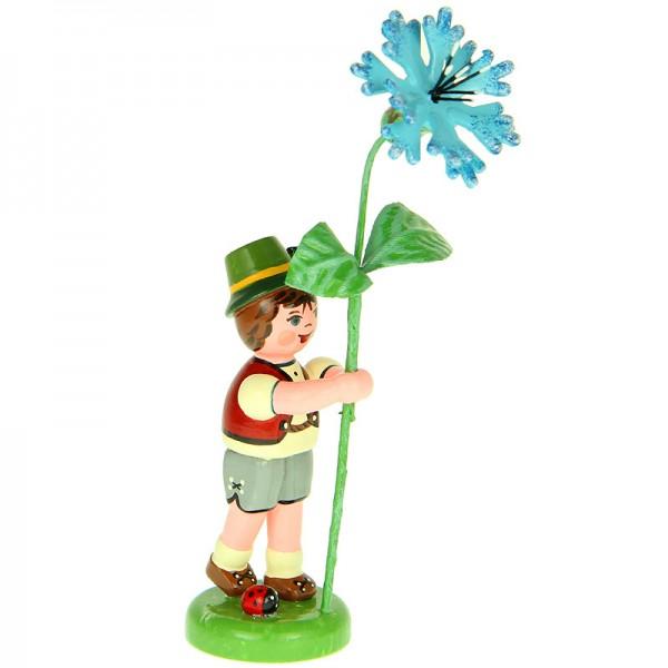 Hubrig Blumenkinder Junge mit Kornblume