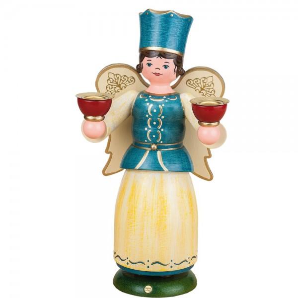 Hubrig Engel mit Kerzen 22cm