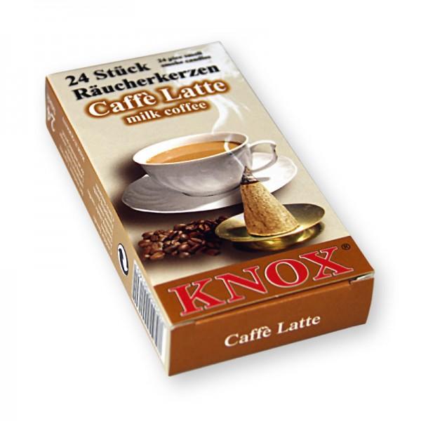 KNOX Räucherkerzchen - Caffé Latte