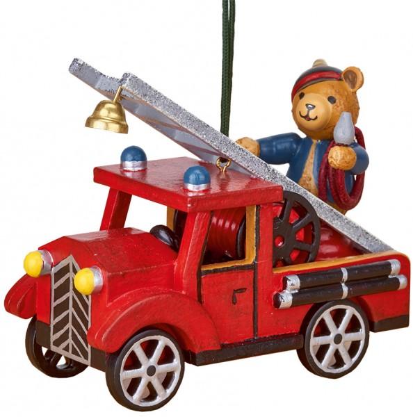 Hubrig Baumbehang Feuerwehr mit Teddy