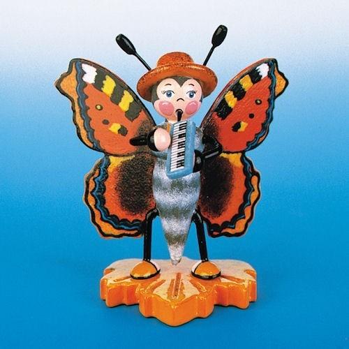 Hubrig Schmetterling Großer Fuchs mit Melodika