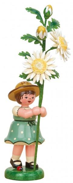 Hubrig Blumenkinder Mädchen mit Edelweißmargerite