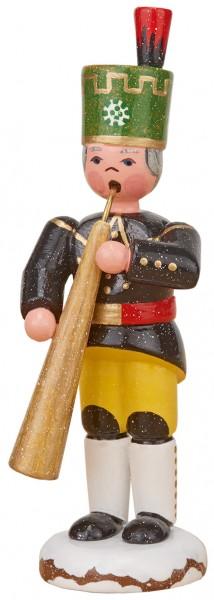 Hubrig Winterkinder - Bergmann mit Russischen Horn