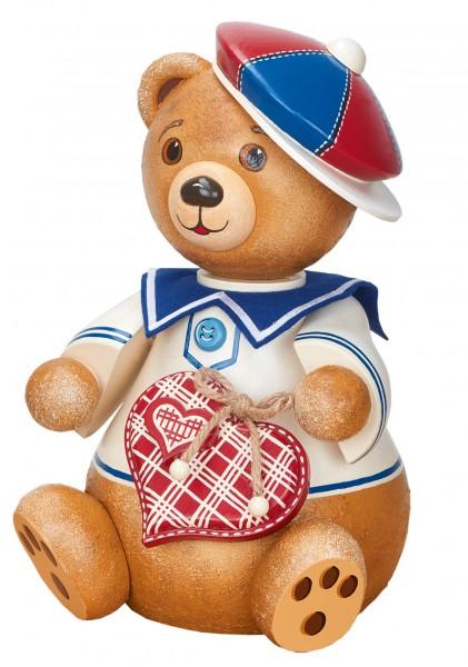 Hubrig Hubiduu ® - Teddy mit Herz - Ben, Mein bester Freund - 25cm